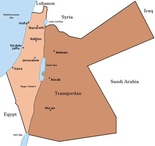 Palestine and Transjordan